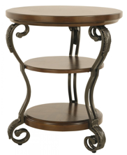 Picture of Nestor Round Chair Side End Table