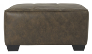 Picture of Abalone Chocolate Oversized Accent Ottoman