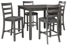 Picture of Bridson 5-Piece Counter Dining Room Set