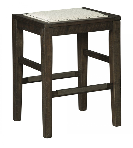 "Picture of Hallishaw 24"" Upholstered Barstool"