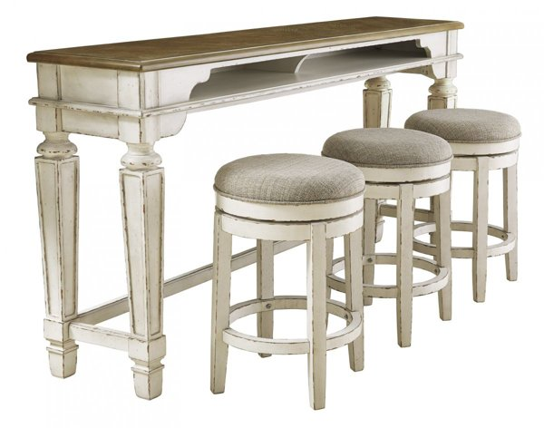 Picture of Realyn 4-Piece Counter Height Bar Set