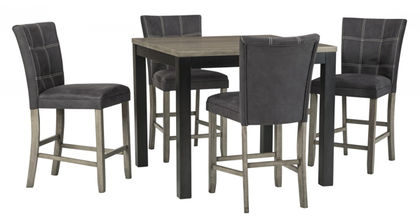 Picture of Dontally 5-Piece Counter Height Dining Set