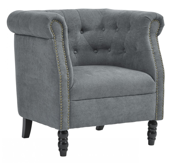 Picture of Jacquelyne Blue Accent Chair