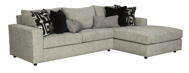 Picture of Ravenstone 2-Piece Right Arm Facing Sleeper Sectional
