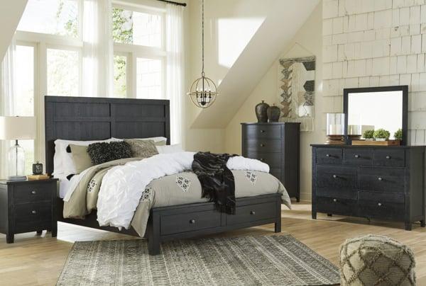 Noorbrook 6 Piece Queen Storage Bedroom Set
