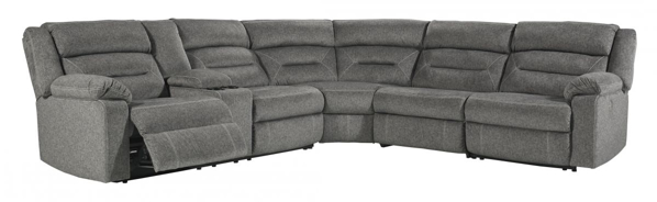 Picture of Malmaison 4-Piece Left Arm Facing Power Reclining Sectional