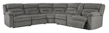 Picture of Malmaison 4-Piece Right Arm Facing Power Reclining Sectional