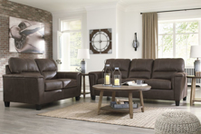 Picture of Navi Chestnut 2-Piece Living Room Set