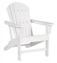 Picture of Sundown Treasure White Adirondack Chair
