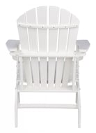 Picture of Sundown Treasure White Adirondack Chair