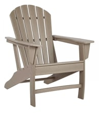 Picture of Sundown Treasure Grayish Brown Adirondack Chair