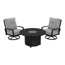 Picture of Castle Island 2-Piece Outdoor Firepit Set