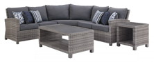 Picture of Salem Beach 5-Piece Outdoor Seating Group