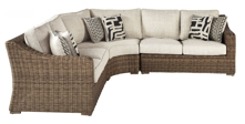 Picture of Beachcroft 3-Piece Outdoor Sectional