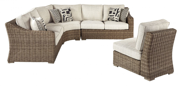 Picture of Beachcroft 4-Piece Outdoor Sectional