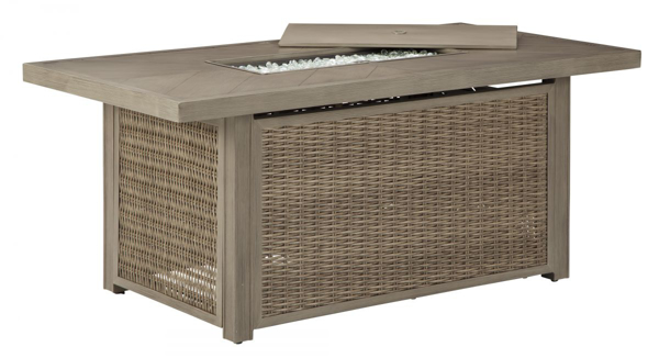 Picture of Beachcroft Outdoor Firepit Cocktail Table