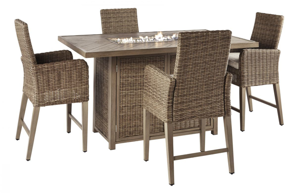 Picture of Beachcroft 5-Piece Outdoor Dining Set