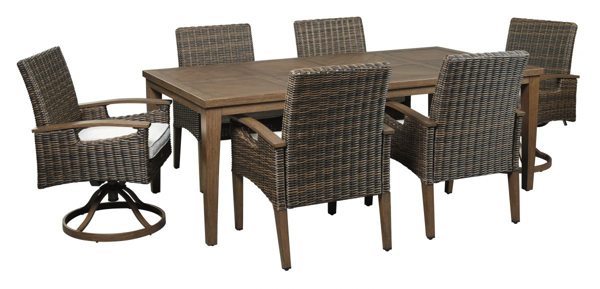 Picture of Paradise Trail 7-Piece Outdoor Dining Set