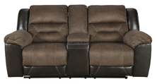 Picture of Earhart Chestnut Reclining Loveseat