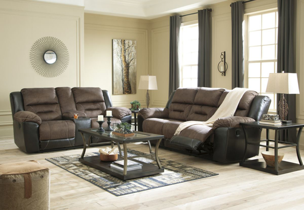 Picture of Earhart Chestnut 2-Piece Living Room Set
