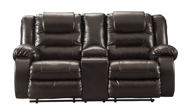 Picture of Vacherie Chocolate Reclining Loveseat