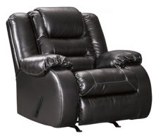 Picture of Vacherie Black Rocker Recliner