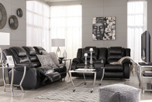 Picture of Vacherie Black 2-Piece Living Room Set
