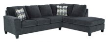 Picture of Abinger Smoke 2-Piece Right Arm Facing Sectional