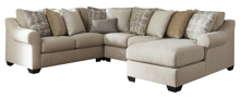 Picture of Ingleside 4-Piece Right Arm Facing Sectional