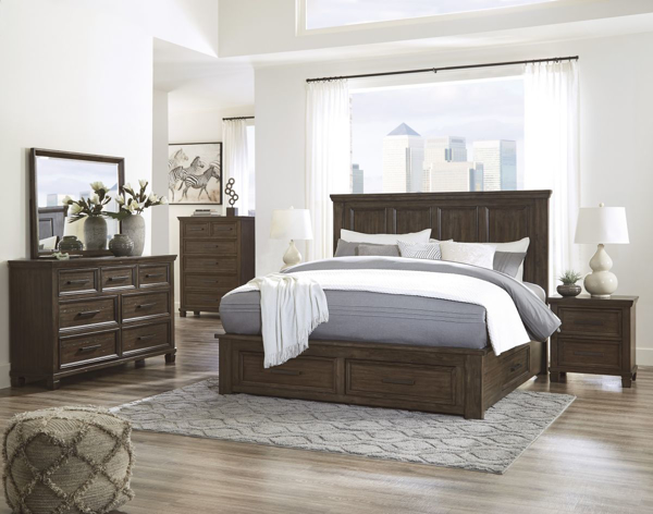 Picture of Johurst 6-Piece King Storage Bedroom Set