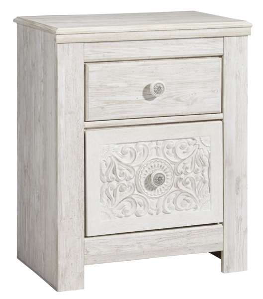 Picture of Paxberry White Nightstand