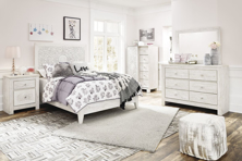 Picture of Paxberry White 6-Piece Full Panel Bedroom Set
