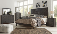 Picture of Paxberry 6-Piece King Panel Bedroom Set