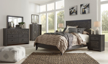 Picture of Paxberry 6-Piece Queen Panel Bedroom Set