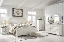 Picture of Nashbryn 6-Piece King Panel Bedroom Set