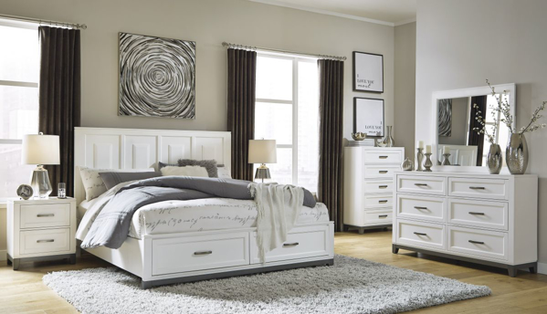 Picture of Brynburg 6-Piece Queen Storage Bedroom Set