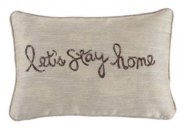Picture of Lets Stay Home Accent Pillow