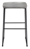 "Picture of Showdell Gray 30"" Barstool"