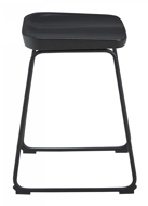 "Picture of Showdell Black 24"" Barstool"