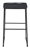 "Picture of Showdell Black 30"" Barstool"