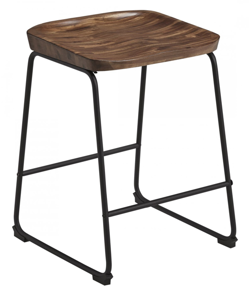 "Picture of Showdell Brown 24"" Barstool"