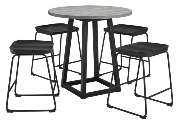 Picture of Showdell 5-Piece Counter Height Dining Set