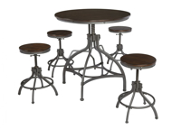 Picture of Odium 5-Piece Counter Height Dining Set