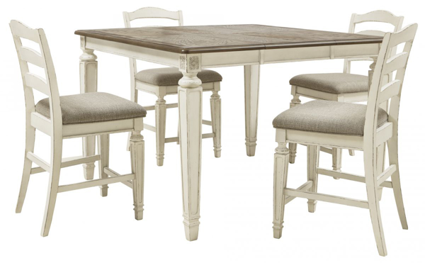 Picture of Realyn 5-Piece Counter Dining Set