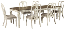 Picture of Realyn 7-Piece Dining Room Set