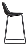"Picture of Centiar Black 30"" Barstool"