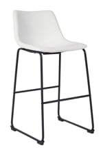 "Picture of Centiar White 30"" Barstool"