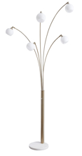 Picture of Taliya Metal Arc Lamp