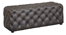 Picture of Lister Brown Accent Ottoman