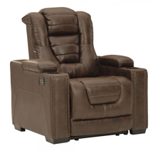 Picture of Owner's Box Power Recliner With Adjustable Headrest